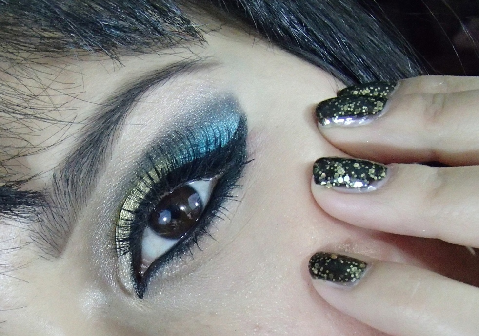 """Cleopatra in New York"" Makeup Look 10-22-12"