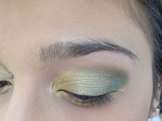 Theodora Palette Eye Look